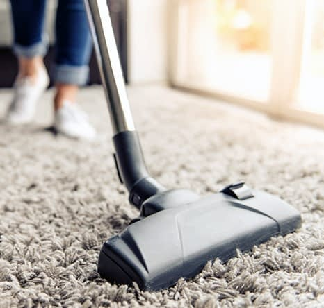 Floors will be vacuumed to ensure they are spotless
